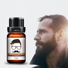 10ml Men's Beard Mustache Conditioner Eyelash Hair Growth Treatment Oil Natural