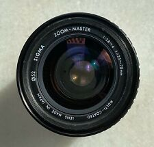 Sigma Zoom Master 35-70mm 2.8-4 Zoom Lens - for Pentax K