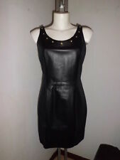 Versace  Versus Abito Donna Pelle + Neoprene Woman size 42 € 650,00