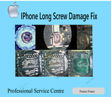 iPhone LONG SCREW DAMAGED REPAIR SERVICE NO DISPLAY FIX CIRCUIT TRACE