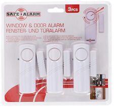 ED268 - Sistema di allarme per porte e finestre Safe Alarm - Confezione 3 pezzi