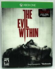 Evil Within Xbox One with Holographic Fighting Chance Slip Cover Sealed