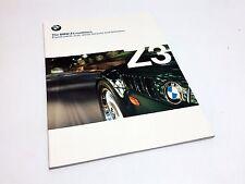 1999 BMW Z3 2.3 2.8 M Roadster Brochure USA