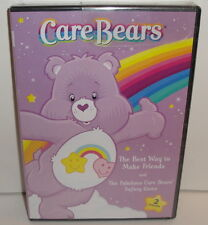 CARE BEARS DVD - 2005 - NEW! 2 Episodes The Best Way to Make Friends #140