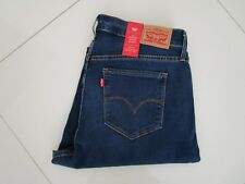 Levi's 310 Shaping Super Skinny Mid Rise Blue Stretch Jeans Size 20W M