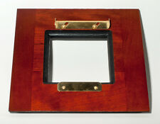 1 ADAPTER 6x6SC for Kodak2D 8x10 for use 80x80mm Horseman boards, made of Cherry