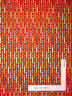 Birthday Party Cake Candles Red Cotton Fabric HG&Co Lets Celebrate By The Yard