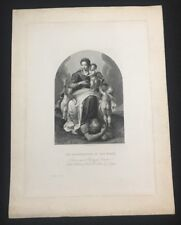 Reneration of the Heart J. Thomson Engraving Printed by Mc Queen of Primaticcio