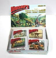Lot of 96 Packs - Dinosaurs (8-Pack) Educational Trading Cards