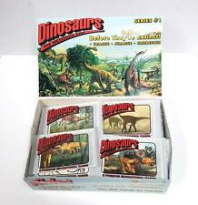 Lot of 48 Packs - Dinosaurs (8-Pack) Educational Trading Cards