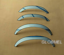 MERCEDES W140 91-99 saloon wheel arches fender trim wheel arch chrome , ca