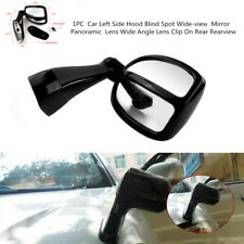 Adjustable Car Vehicle Left Side Hood Blind Spot Wide-view Mirror Panoramic Lens