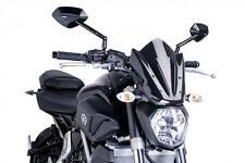 PUIG - 7015F - Naked New Generation Sport Windscreen, DARK SMOKE - 300 x 260 mm
