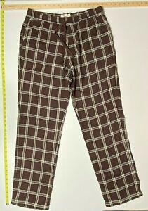 UGG Men's Flynn Lounge Pant - Brown Plaid - XL