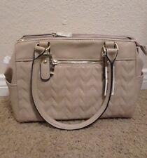 New Women Handbag Shoulder Bags purse jen satchel croco strap -taupe-