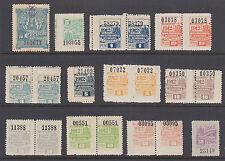 Argentina, Cordoba, Forbin 28//299. 1898-1913 Documentary Fiscals, 12 diff