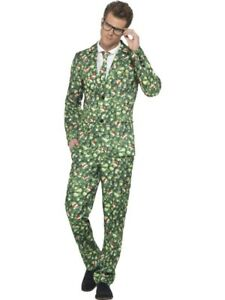 Brussel Sprout Suit Smiffys Fancy Dress Costume