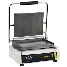 Apuro Commercial Contact Grill Sandwich Press Restaurant Cafe Catering Chef