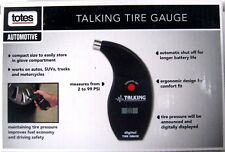 Totes Talking Tire Gauge with LCD Display New NIB
