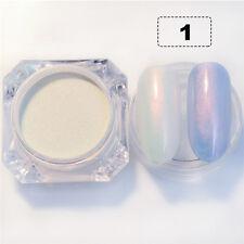 2g/Box Shining Nail Glitter Pearl Shimmer Nail Powder Mermaid Nail Dust Stylish