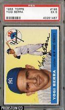 1955 Topps #198 Yogi Berra HOF Yankees PSA 5 EX