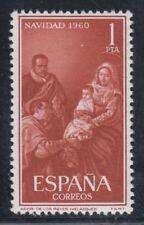 ESPAÑA (1960) MNH NUEVO SIN FIJASELLOS SPAIN - EDIFIL 1325 Sc# 968 NAVIDAD