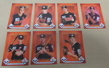 1990's Perth Heat team set - 7 cards (Greg Jelks) - Australian Baseball League