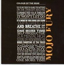 (BE587) Colour of the Bear, Mojo Fury - 2011 DJ CD