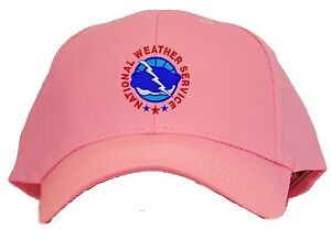 National Weather Service Embroidered Baseball Cap  Available in 7 Colors Hat NWS