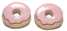 PINK DOUGHNUTS DONUTS STUD EARRINGS (S165)