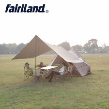 Outdoor Family Camping Tent 5 Person Large Rain Fly Tents Tarp 110.2x94.5x76.8in