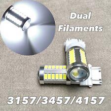 Front Turn Signal Parking WHITE SMD LED Bulb T25 3057 3157 4157 SRCK W1 AF AE