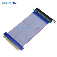 PCI-Express PCI-E 16X Slot Riser Card Ribbon Extender Extension 20cm Flex Cable