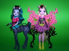Monster High Freaky Fusion AVEA TROTTER & BONITA FEMUR Doll Lot