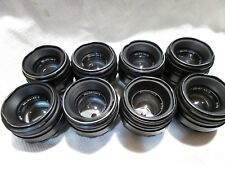 LOT of 8 Helios 44-2 2/58 Russian lens for M42 mount SLR  Zenit camera   7891