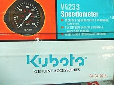 Kubota RTV900, RTV500 SPEEDOMETER KIT, V4233, K7561-99650, NEW OLD STOCK