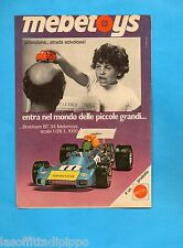 TOP973-PUBBLICITA'/ADVERTISING-1973- MATTEL - BRABHAM BT34 MEBETOYS