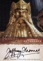 Hobbit Desolation of Smaug Jeffrey Thomas as King Thror Autograph Card JT