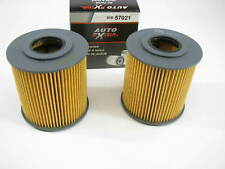 (2) Auto Extra 618-57021 Oil Filter Replaces CH8712 57021 L15315 LF522 P7338