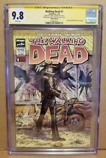 THE WALKING DEAD #1 CGC 9.8 SS ITALIAN EDITION VARIANT *SIGNED* KIRKMAN 2014