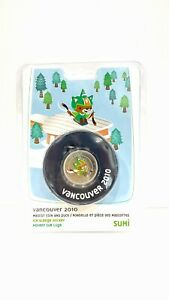 Vancouver 2010 Olympics 50 Cent Sumi Coin and Puck