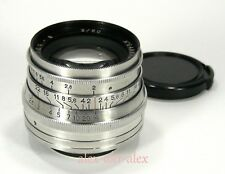 Made in USSR Jupiter-8 lens 2/50 mm 1964 year M39.Good working.CLA.№6481704