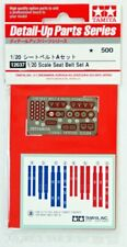 F1 Seat Belt Set A 1970S/80S - 1/20 F1 Model Kit - Tamiya 12637