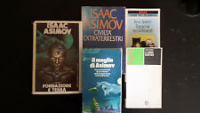 LOTTO Isaac Asimov 6 volumi Vedovi Neri, Fondazione, il meglio di Asimov, etc.