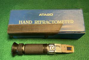 ATAGO Hand Refractometer Retailed by Peter Logan Surrey SM2 7NH