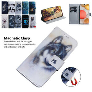 For Samsung Galaxy A42 A12 A32 A71 A51 5G Luxury Case Flip Wallet Phone Cover