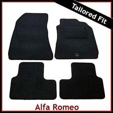 ALFA ROMEO 159 2005-2011 completamente montato su misura moquette tappetini Nero