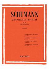 RICORDI Schumann, Robert -  ALBUM PER LA GIOVENTU OP. 68
