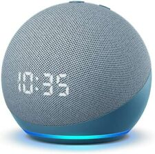 All-new Echo Dot (4th Gen) | Smart speaker WITH CLOCK and Alexa - 2 Colors - NEW