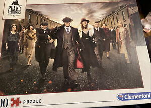 Clementoni Peaky Blinders 1000 Piece Jigsaw. Used Only Once. Excellent